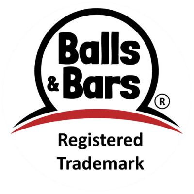 Balls and Bars Logo (R) for Energy Balls & Energy Bars