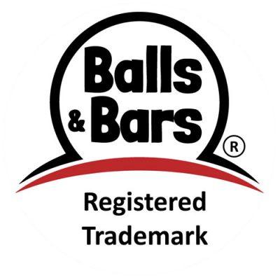 Balls and Bars Logo (R) for Energy Balls & Energy Bars