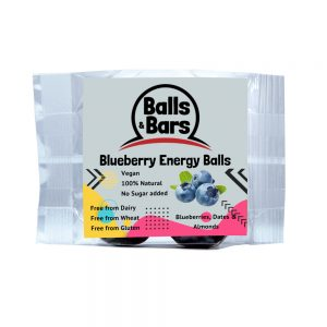 Balls and Bars Blueberry Energy Ball