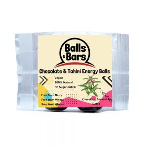 Balls and Bars Chocolate Tahini Energy Balls